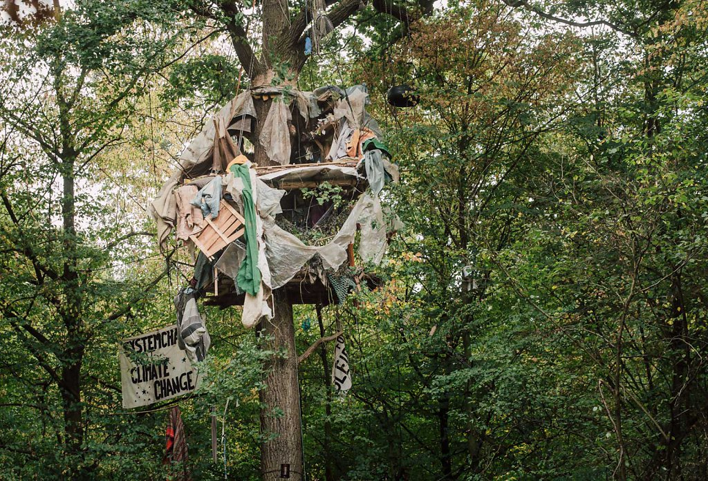 Hambacher Forst evection 2018